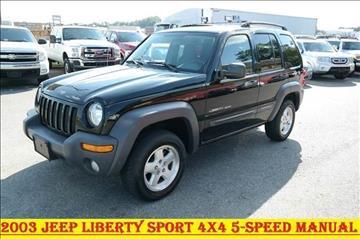 2003 Jeep Liberty For Sale In Fredericksburg, VA