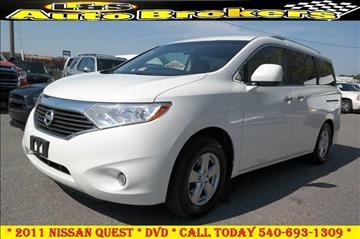 2011 Nissan Quest for sale in Fredericksburg, VA