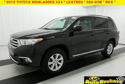 2012 Toyota Highlander for sale in Fredericksburg, VA