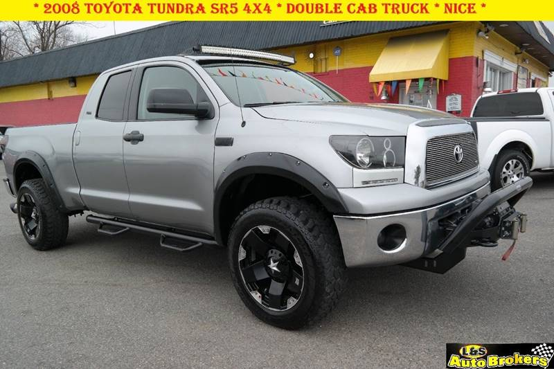 2008 toyota tundra sr5 4x4 double cab in fredericksburg va l s auto brokers. Black Bedroom Furniture Sets. Home Design Ideas