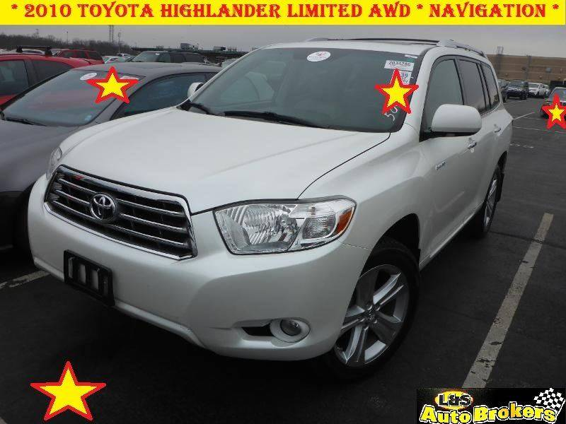 2010 toyota highlander awd limited 4dr suv in fredericksburg va l s auto brokers. Black Bedroom Furniture Sets. Home Design Ideas