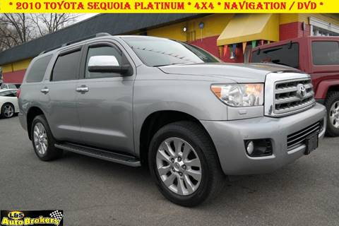 2010 Toyota Sequoia for sale at L & S AUTO BROKERS in Fredericksburg VA