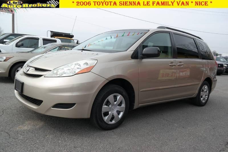 d2652e6283 2006 Toyota Sienna LE 7-Passenger 4dr Mini-Van In Fredericksburg VA ...