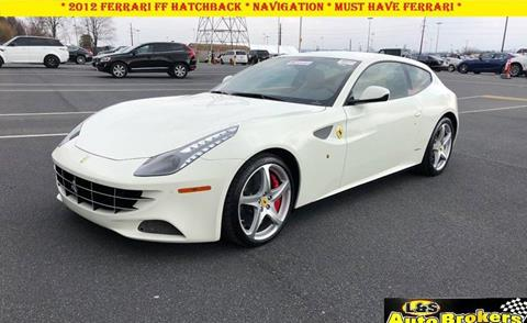 2012 Ferrari FF for sale at L & S AUTO BROKERS in Fredericksburg VA