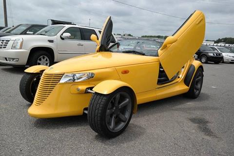 2002 Chrysler Prowler for sale at L & S AUTO BROKERS in Fredericksburg VA