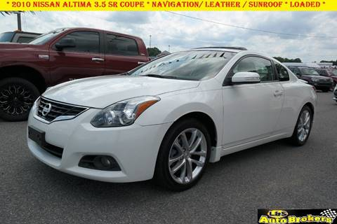 2010 Nissan Altima for sale at L & S AUTO BROKERS in Fredericksburg VA