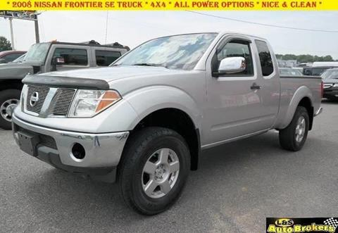 2008 Nissan Frontier for sale at L & S AUTO BROKERS in Fredericksburg VA