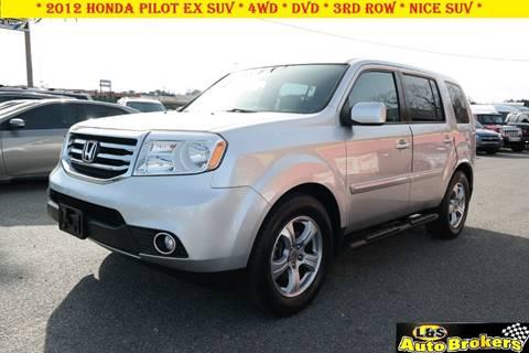 2012 Honda Pilot for sale at L & S AUTO BROKERS in Fredericksburg VA