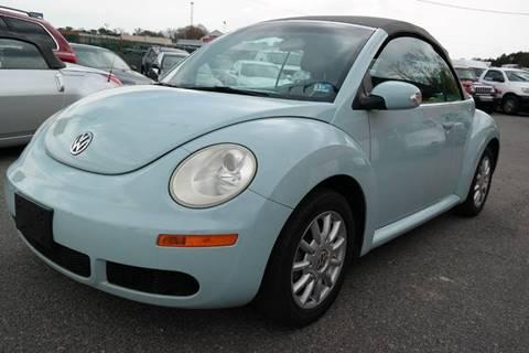 2006 Volkswagen New Beetle for sale at L & S AUTO BROKERS in Fredericksburg VA