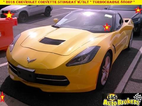 2016 Chevrolet Corvette for sale at L & S AUTO BROKERS in Fredericksburg VA