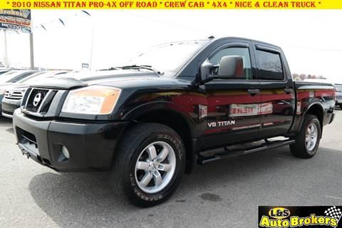 2010 Nissan Titan for sale at L & S AUTO BROKERS in Fredericksburg VA