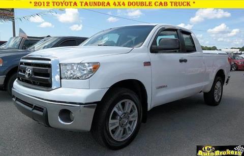 2012 Toyota Tundra for sale at L & S AUTO BROKERS in Fredericksburg VA