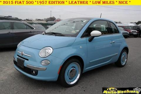 2015 FIAT 500 for sale at L & S AUTO BROKERS in Fredericksburg VA