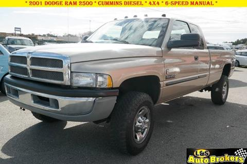 2001 Dodge Ram Pickup 2500 for sale at L & S AUTO BROKERS in Fredericksburg VA