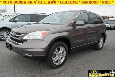 2010 Honda CR-V for sale at L & S AUTO BROKERS in Fredericksburg VA