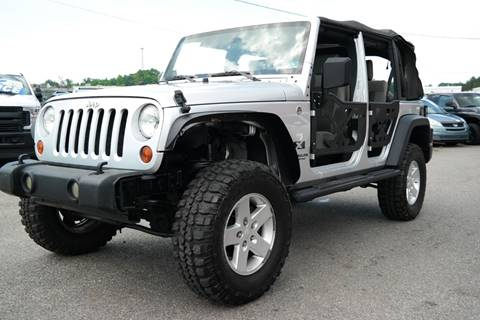 2008 Jeep Wrangler Unlimited for sale at L & S AUTO BROKERS in Fredericksburg VA