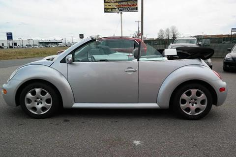 2003 Volkswagen New Beetle for sale at L & S AUTO BROKERS in Fredericksburg VA
