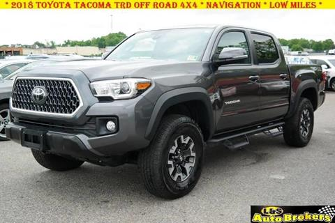 2018 Toyota Tacoma for sale at L & S AUTO BROKERS in Fredericksburg VA