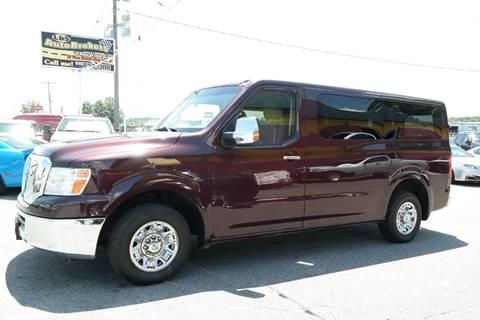 2013 Nissan NV Passenger for sale in Fredericksburg, VA