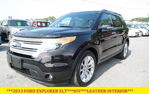 2013 Ford Explorer for sale at L & S AUTO BROKERS in Fredericksburg VA