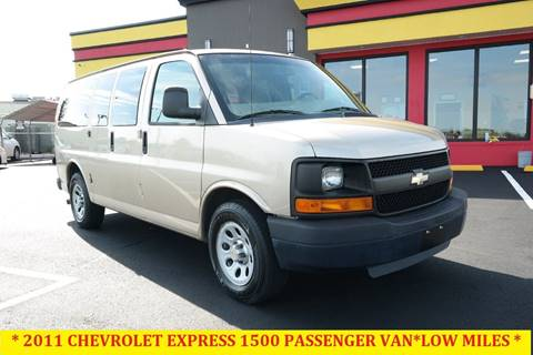 2011 Chevrolet Express Passenger for sale at L & S AUTO BROKERS in Fredericksburg VA