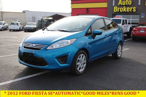 2012 Ford Fiesta for sale at L & S AUTO BROKERS in Fredericksburg VA