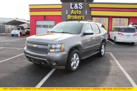 2007 Chevrolet Tahoe for sale at L & S AUTO BROKERS in Fredericksburg VA