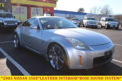 2003 Nissan 350Z for sale at L & S AUTO BROKERS in Fredericksburg VA