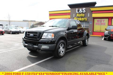 2004 Ford F-150 for sale at L & S AUTO BROKERS in Fredericksburg VA