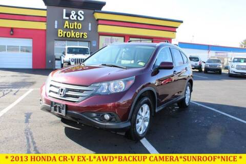 2013 Honda CR-V for sale at L & S AUTO BROKERS in Fredericksburg VA