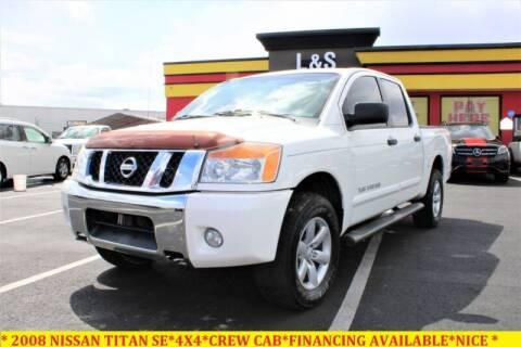 2008 Nissan Titan for sale at L & S AUTO BROKERS in Fredericksburg VA