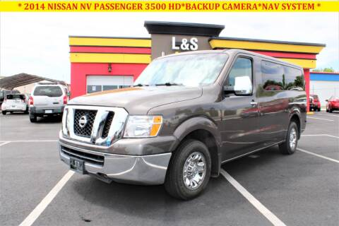 2014 Nissan NV Passenger for sale at L & S AUTO BROKERS in Fredericksburg VA