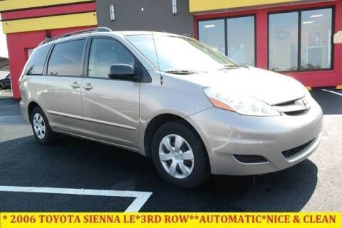 2006 Toyota Sienna for sale at L & S AUTO BROKERS in Fredericksburg VA