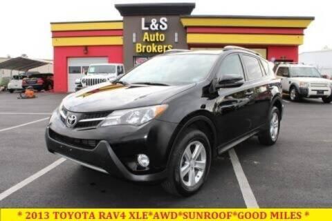 2013 Toyota RAV4 for sale at L & S AUTO BROKERS in Fredericksburg VA