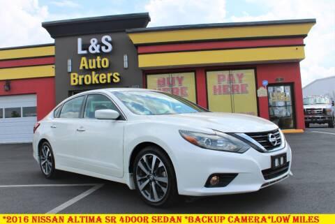 2016 Nissan Altima for sale at L & S AUTO BROKERS in Fredericksburg VA