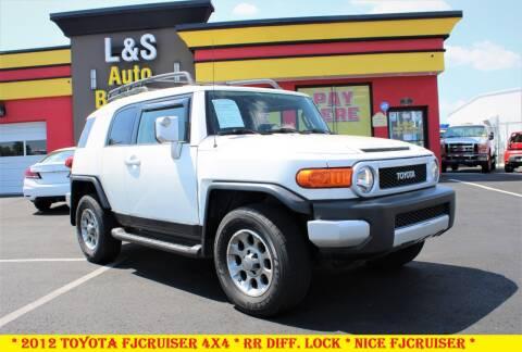 2012 Toyota FJ Cruiser for sale at L & S AUTO BROKERS in Fredericksburg VA