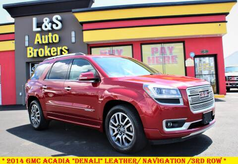 2014 GMC Acadia for sale at L & S AUTO BROKERS in Fredericksburg VA