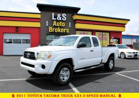 2011 Toyota Tacoma for sale at L & S AUTO BROKERS in Fredericksburg VA