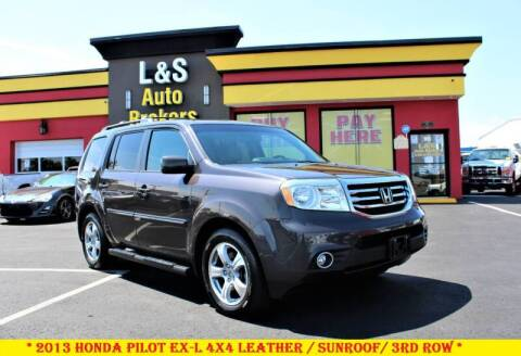2013 Honda Pilot for sale at L & S AUTO BROKERS in Fredericksburg VA