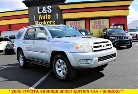 2005 Toyota 4Runner for sale at L & S AUTO BROKERS in Fredericksburg VA