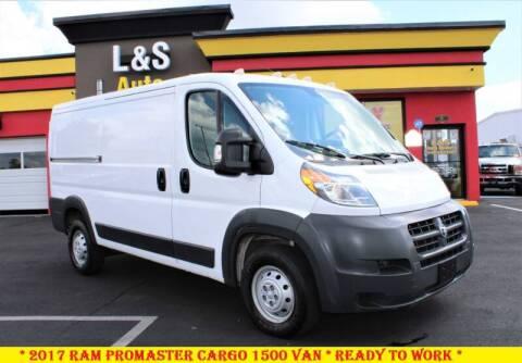 2017 RAM ProMaster Cargo for sale at L & S AUTO BROKERS in Fredericksburg VA