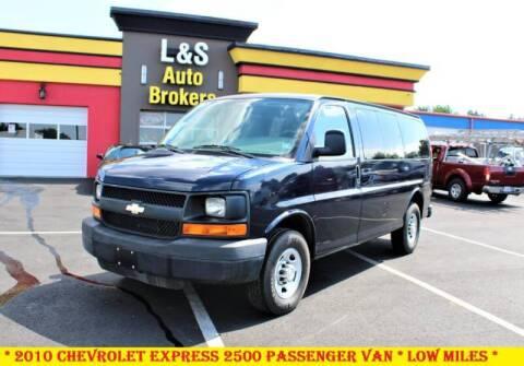 2010 Chevrolet Express Passenger for sale at L & S AUTO BROKERS in Fredericksburg VA