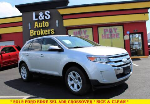 2012 Ford Edge for sale at L & S AUTO BROKERS in Fredericksburg VA
