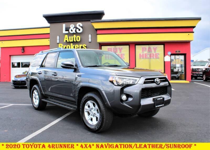 2020 Toyota 4Runner for sale at L & S AUTO BROKERS in Fredericksburg VA
