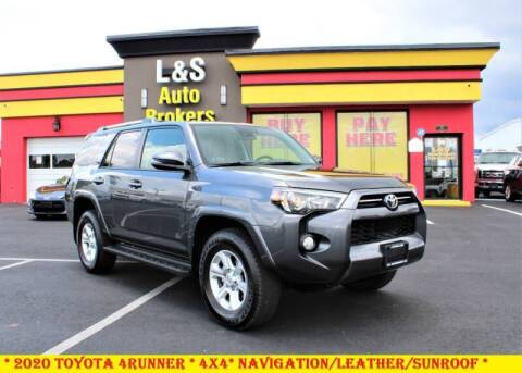 2020 Toyota 4Runner for sale at L & S AUTO BROKERS in Fredericksburg VA