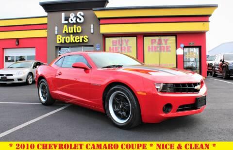 2010 Chevrolet Camaro for sale at L & S AUTO BROKERS in Fredericksburg VA