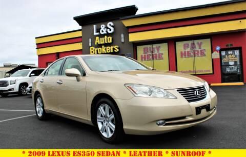 2009 Lexus ES 350 for sale at L & S AUTO BROKERS in Fredericksburg VA