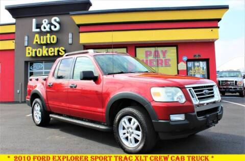 2010 Ford Explorer Sport Trac for sale at L & S AUTO BROKERS in Fredericksburg VA