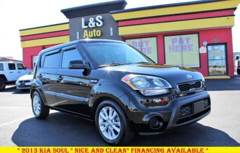 2013 Kia Soul for sale at L & S AUTO BROKERS in Fredericksburg VA