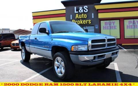 2000 Dodge Ram Pickup 1500 for sale at L & S AUTO BROKERS in Fredericksburg VA